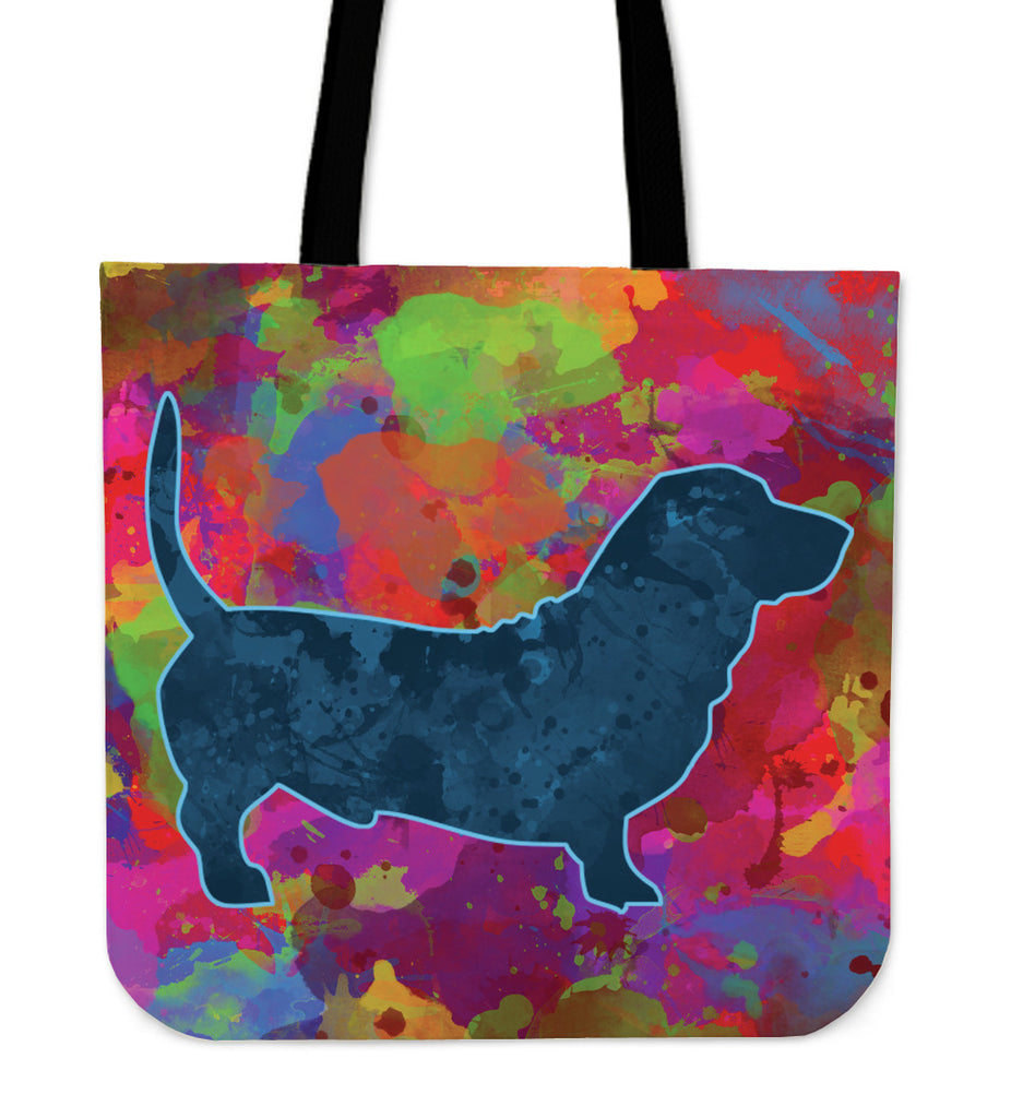 Colorful Daschund Tote Bag! - CRE8Custom