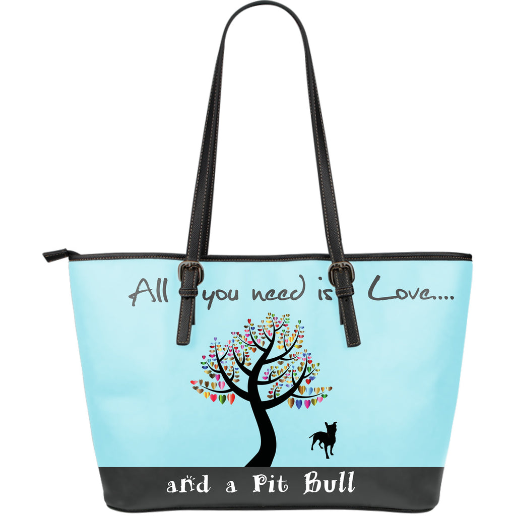 All You Need Is Love And A Pitbull Blue - CRE8Custom