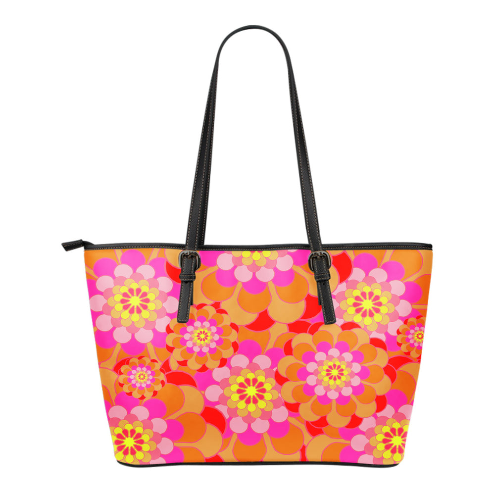 Retro Flowers Small Handbag