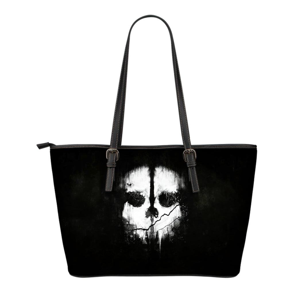 Skull Small Leather Handbag