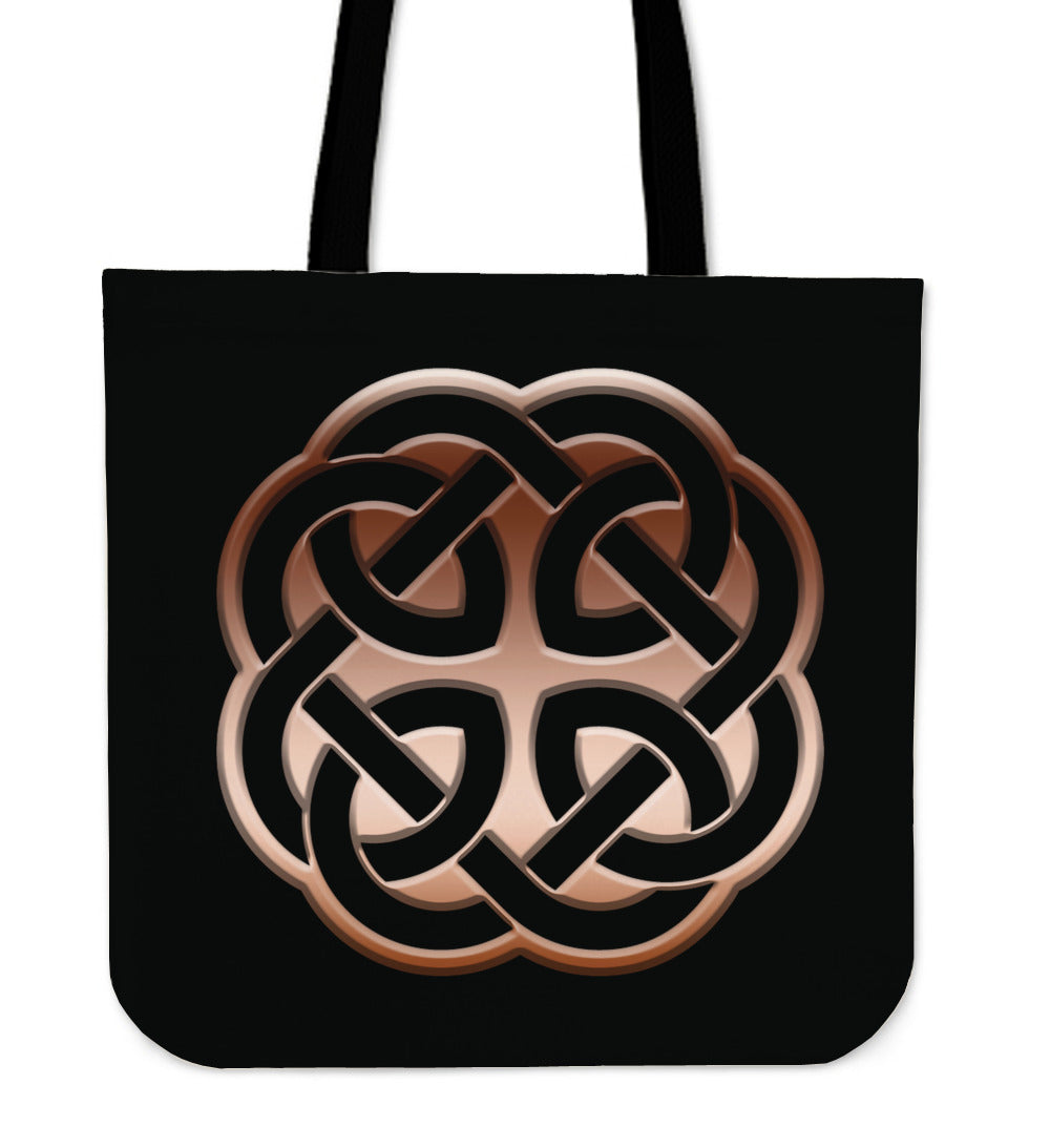 Copper Celtic Knot Tote Bag - CRE8Custom