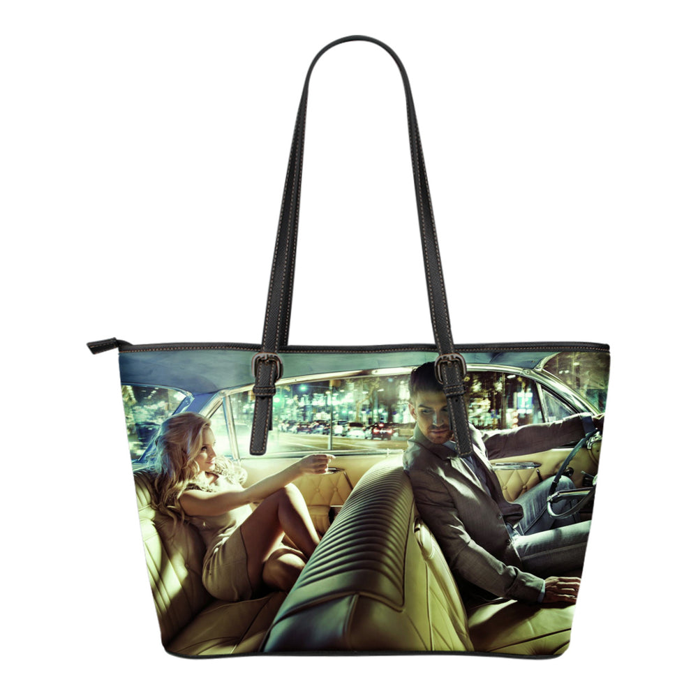 Taxi Ride Small Leather Handbag