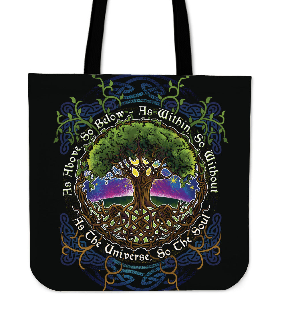 As Above So Below Tote - CRE8Custom