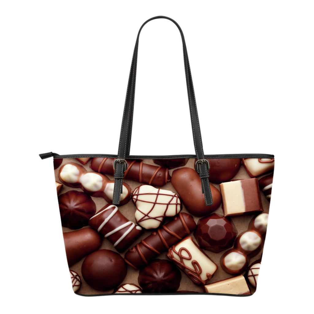 Chocolate Shoppe Small Leather Handbag - CRE8Custom