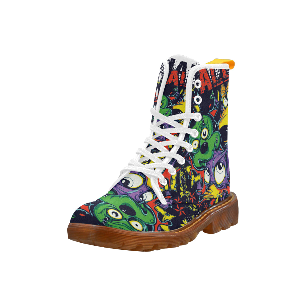 Animal Show Martin Style Boots For Women Combat Boots - CRE8Custom
