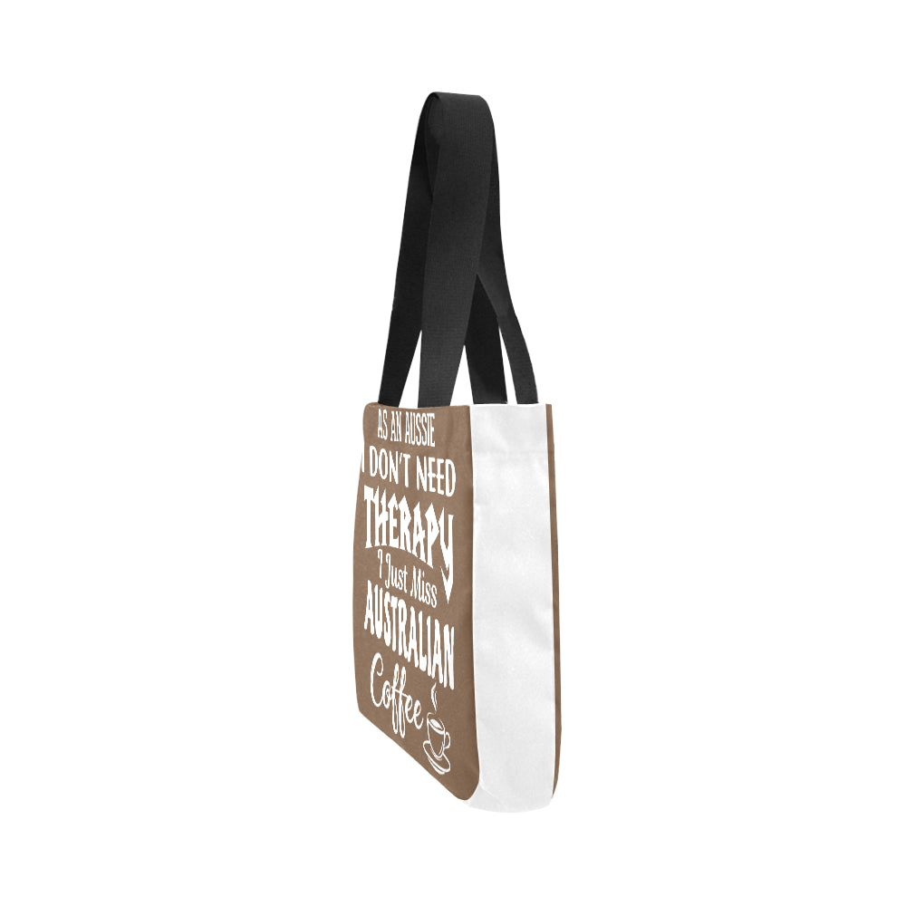 Australian Coffee Vintage Premium Quality Canvas Tote Bag 02 Model 1603 (Two sides) - CRE8Custom