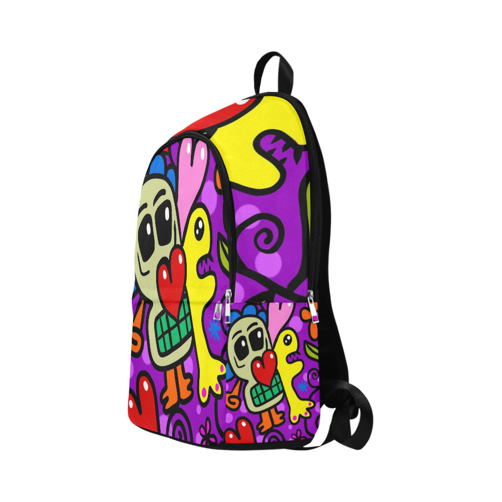 Abstract Fabric Backpack for Adult - CRE8Custom