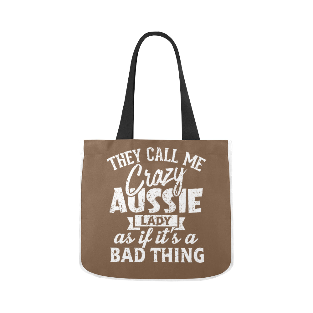 Aussie Lady Vintage Limited Premium Quality Canvas Tote Bag 02 Model 1603 (Two sides) - CRE8Custom