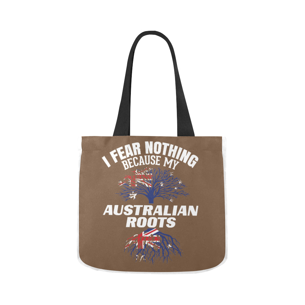 Australian Roots Funny Premium Quality Canvas Tote Bag 02 Model 1603 (Two sides) - CRE8Custom