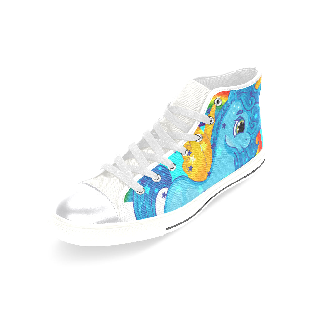 Amazing Unicorn Women's Classic High Top Canvas Shoes Casual Shoes - CRE8Custom