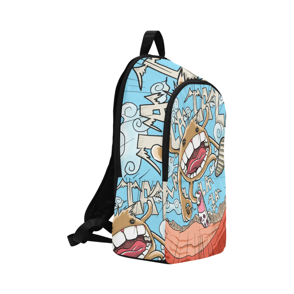 Cute Illustration Fabric Backpack for Adult - CRE8Custom