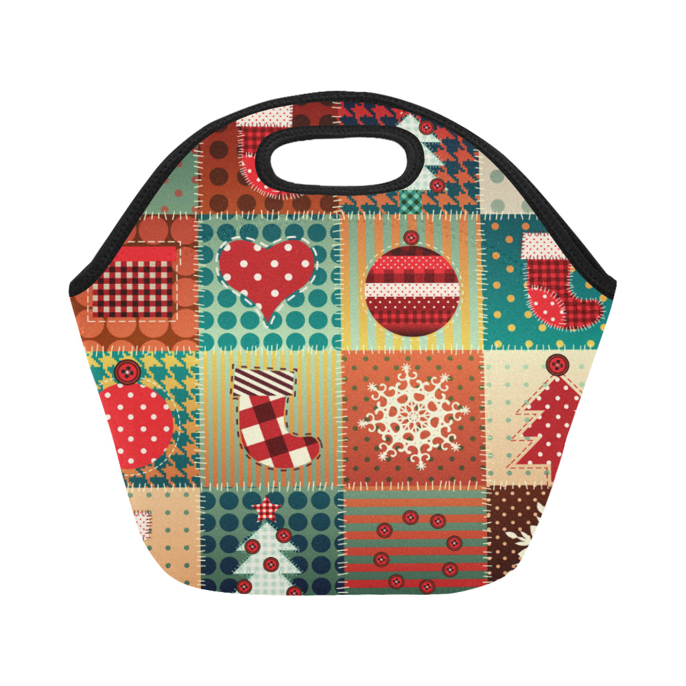 Christmas Neoprene Lunch Bag/Small - CRE8Custom