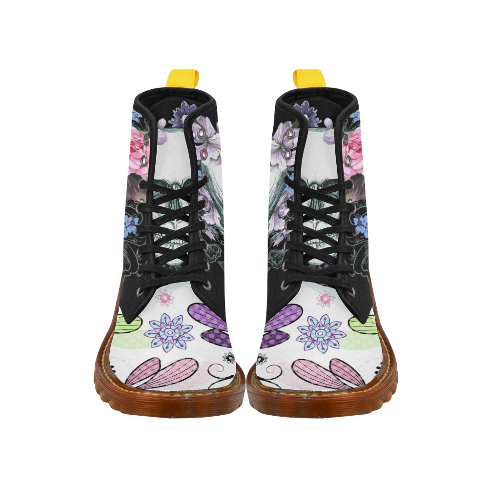 Awesome Butterfly Martin Style Boots For Women Combat Boots - CRE8Custom