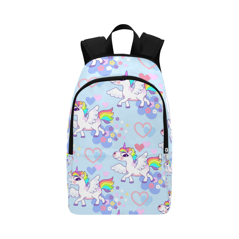 Cartoon unicorn Fabric Backpack for Adult - CRE8Custom