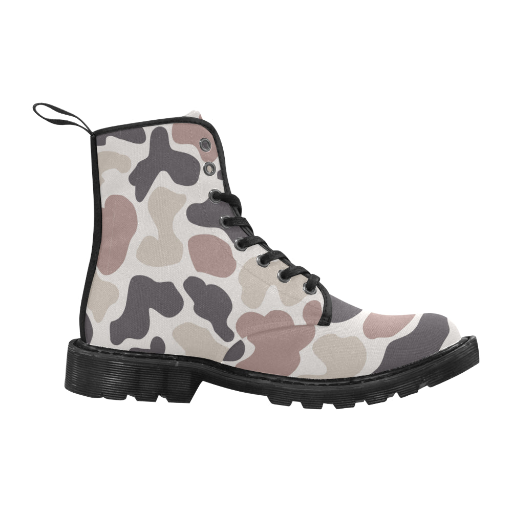 Awesome Cloud Camouflage Martin Style Boots For Women Combat Boots - CRE8Custom