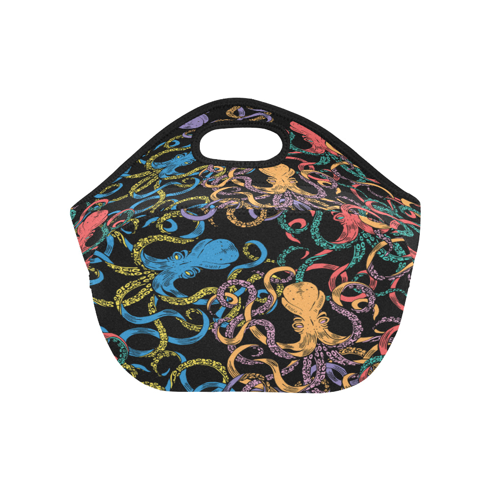 Octopus Doodle Sea Life Neoprene Lunch Bag/Small
