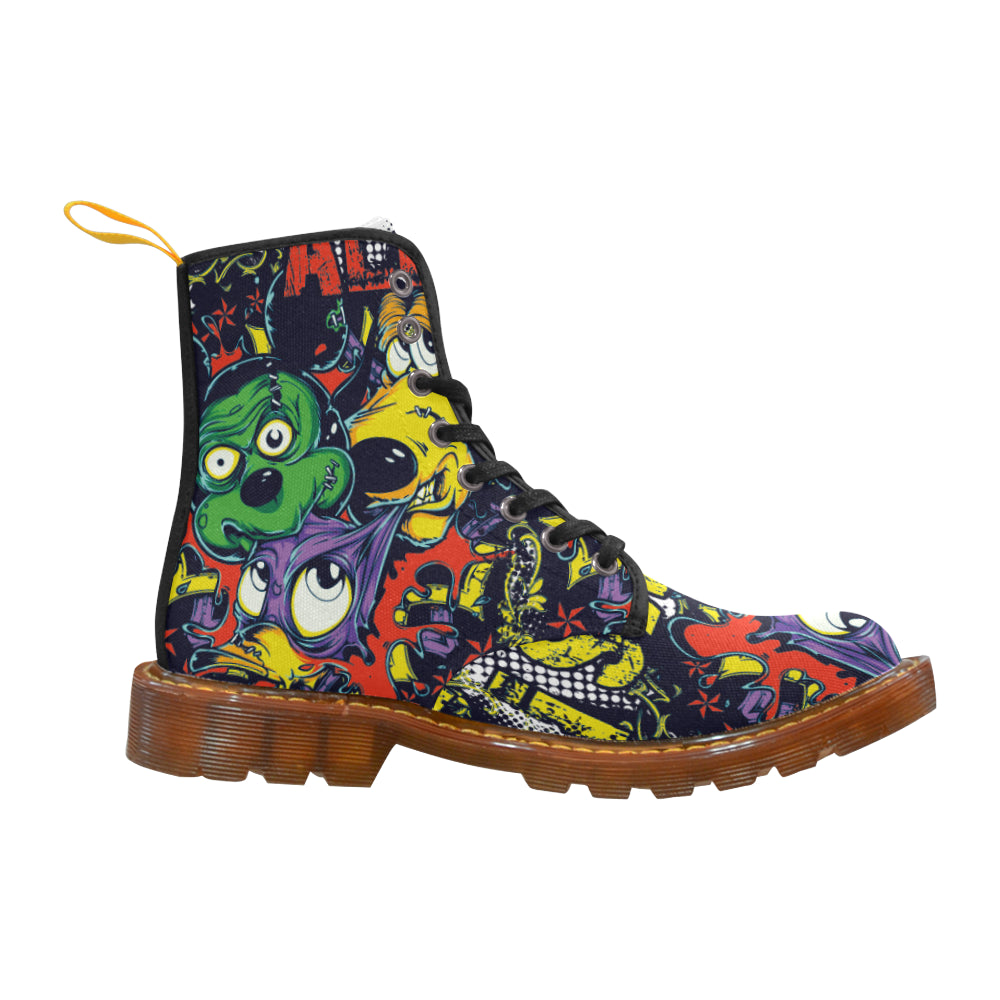 Animal Cartoon Martin Style Boots For Women - CRE8Custom
