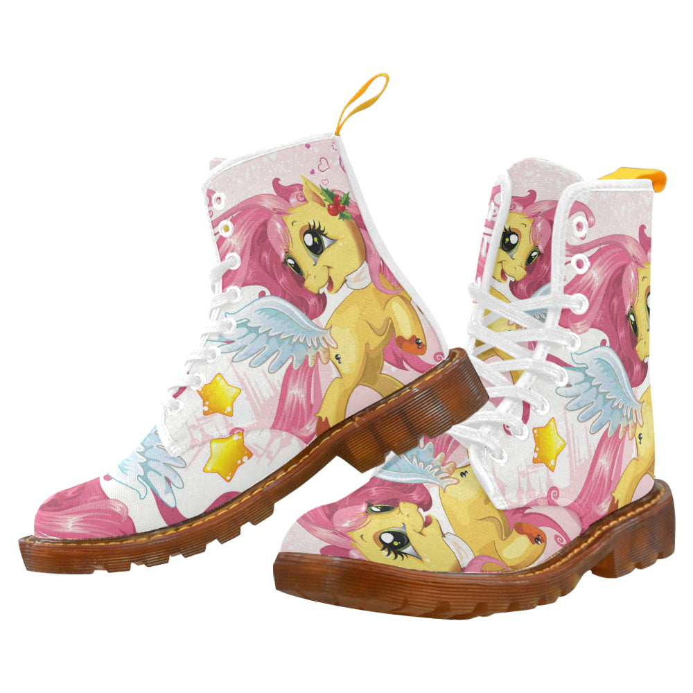 Awesome Unicorn Martin Style Boots For Women Combat Boots - CRE8Custom