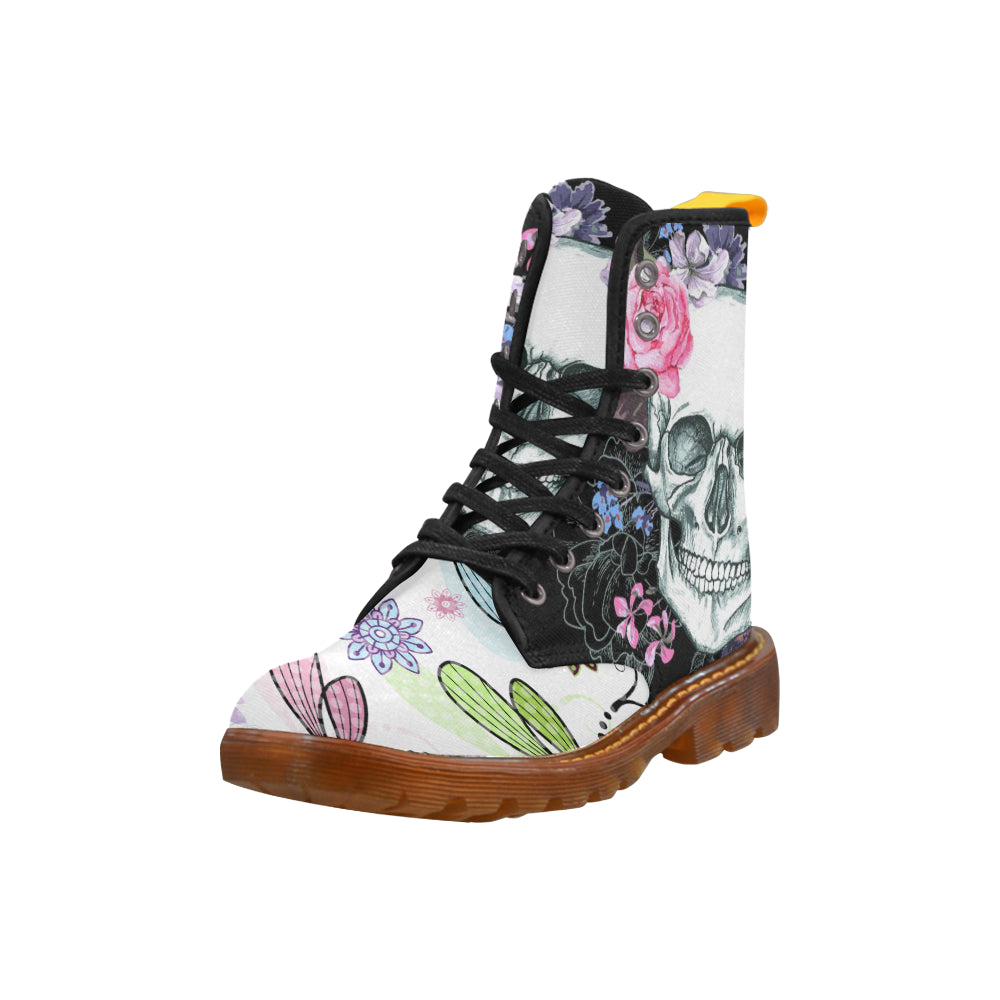 Butterfly-A-010-13 Martin Boots For Women - CRE8Custom