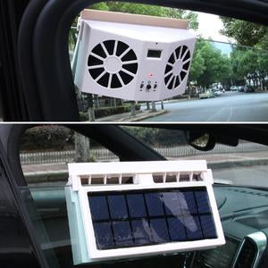 Car Solar Powered Exhaust Fan - GoEverydaygadget