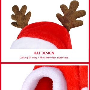 Small Dogs Santa Costume - GoEverydaygadget