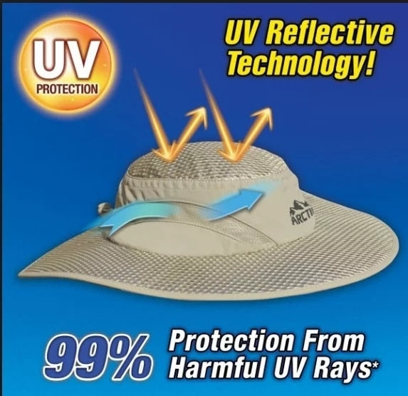 Arctic Hat Sunscreen Cooling Hat - GoEverydaygadget