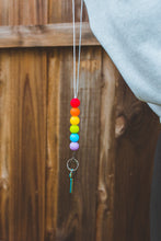 Load image into Gallery viewer, Rainbow Silicone Lanyard