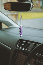 Load image into Gallery viewer, Purple Silicone Mirror Dangle