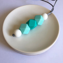 Load image into Gallery viewer, Turquoise Silicone Mirror Dangle