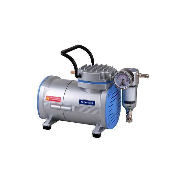 Rocker 300 Vacuum Pump Oil Free 18 Litres/MIN OzVials | Medical Lab Supplies Australia | Discreet Shipping | Privacy | Cryptocurrency | Buy Online | Glass Vials | Bacteriostatic Water | Benzyl Alcohol | Benzyl Benzoate |