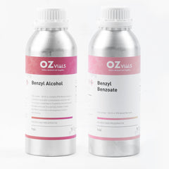 Benzyl alcohol 1L & Benzyl Benzoate 1L