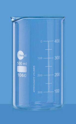 Borosil Glass beaker 1000ml tall form