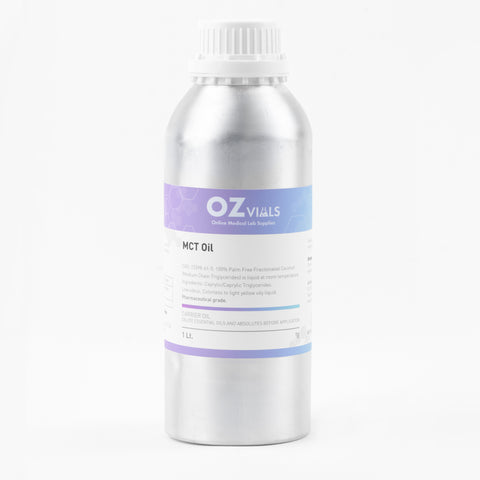 Pure Refined MCT Oil 1L Pharmaceutical Grade