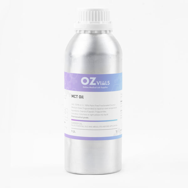 Pure Refined MCT Oil 5L Pharmaceutical Grade
