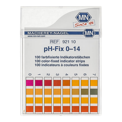 Macherey Nagel pH indicator strips 100 strips