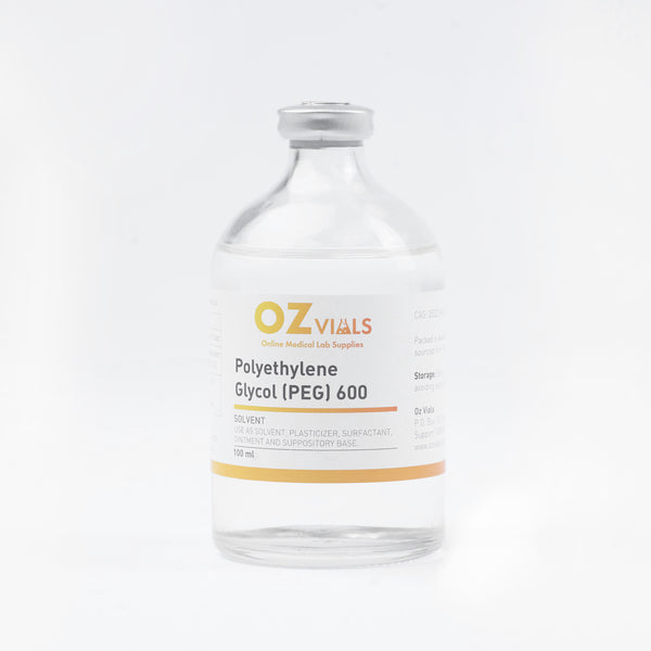 Polyethylene Glycol (PEG) 600 100ml