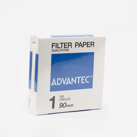 100 Filter Papers Advantec 90mm Medium Flow Rate