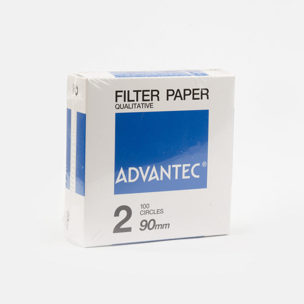 100 Filter Papers Advantec 90mm Fast Flow Rate