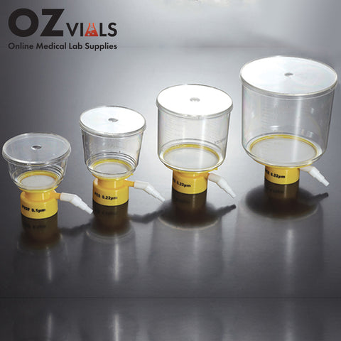 Jet Biofil Vacuum Filter Upper Cup Sterile 0.22um 90mm CA 500ml OzVials Medical Lab Supplies Australia | Discreet Shipping | Privacy | Cryptocurrency | Buy Online | Glass Vials | Bacteriostatic Water | Benzyl Alcohol | Benzyl Benzoate |