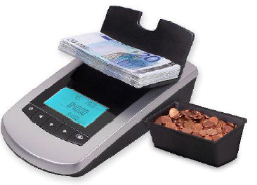 ICM-3000 Bank Note and Coin Counting Scale