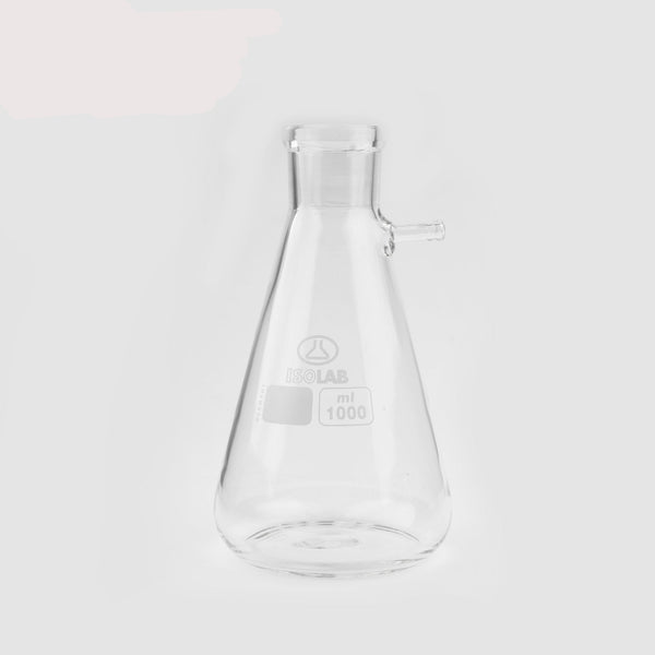 ISOLAB Buchner Flask Low Form Borosilicate 1000ml OzVials | Medical Lab Supplies Australia | Discreet Shipping | Privacy | Cryptocurrency | Buy Online | Glass Vials | Bacteriostatic Water | Benzyl Alcohol | Benzyl Benzoate |