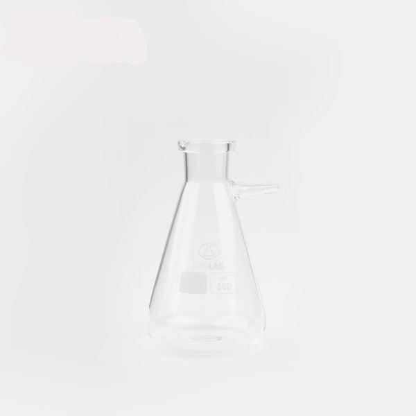 ISOLAB Buchner Flask Low Form Borosilicate 500ml OzVials | Medical Lab Supplies Australia | Discreet Shipping | Privacy | Cryptocurrency | Buy Online | Glass Vials | Bacteriostatic Water | Benzyl Alcohol | Benzyl Benzoate |