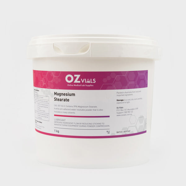 Magnesium Stearate 1kg MS Powder