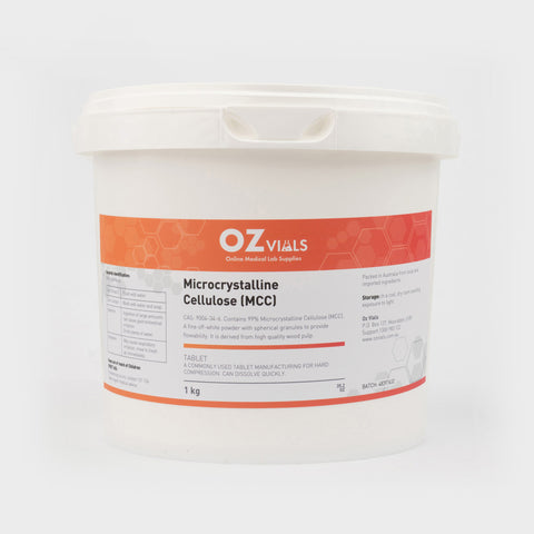 Microcrystalline Cellulose 1kg MCC 102 Powder