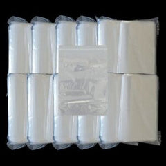Resealable Bags Clear - 75 x 125mm
