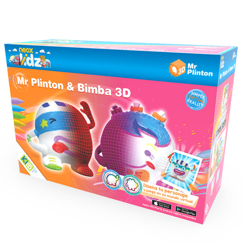 Pack Mr Plinton *& Bimba 3D