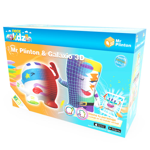 Pack Mr Plinton *& Galaxio 3D