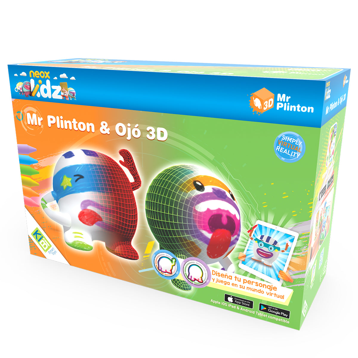 Pack Mr Plinton *& Ojó 3D