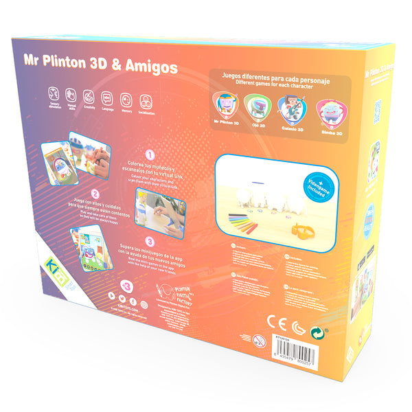 Pack Mr Plinton 3D *& Amigos