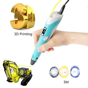 2nd Generation 3D Printing Drawing Pen With Temperature Control LCD